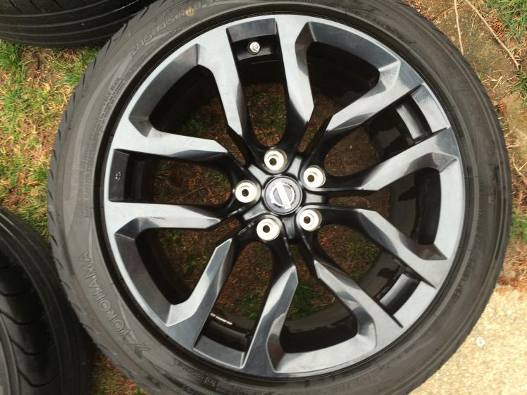 Rims Tires Black And 17 Inch