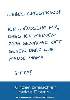 VaeterohneRechte_Postkarte_LiebesChristkind 40 Prozent