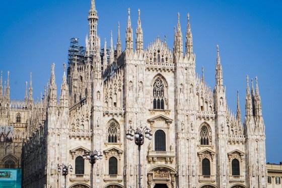 Päivä Milanossa