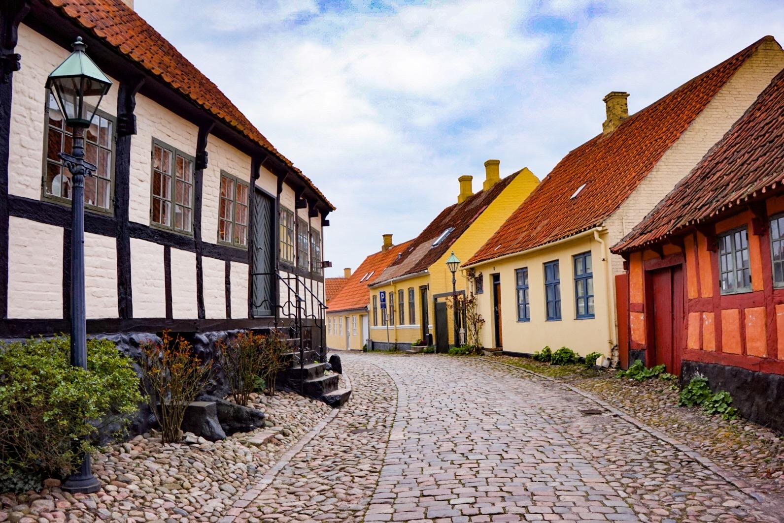 Värikäs Ebeltoft on Tanskan ihanin kylä