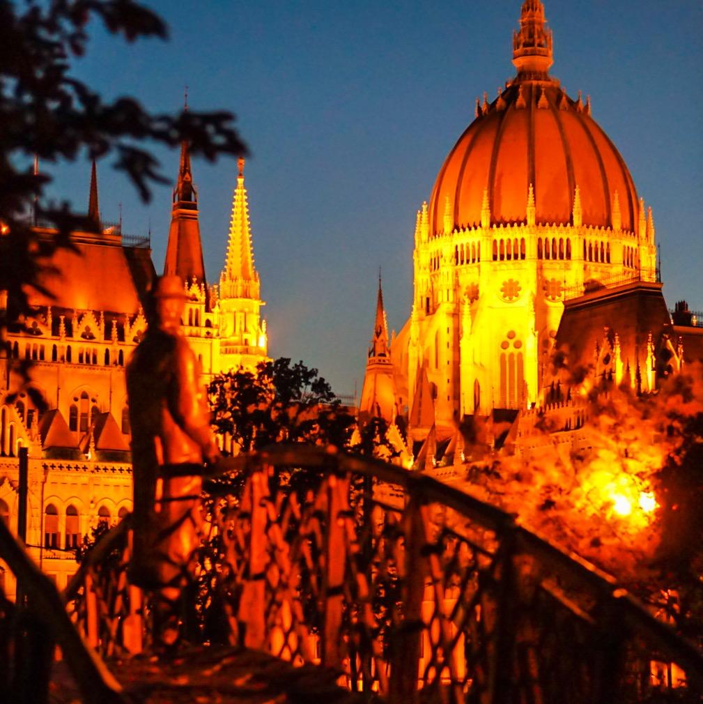 Budapestissa ensimmäistä kertaa