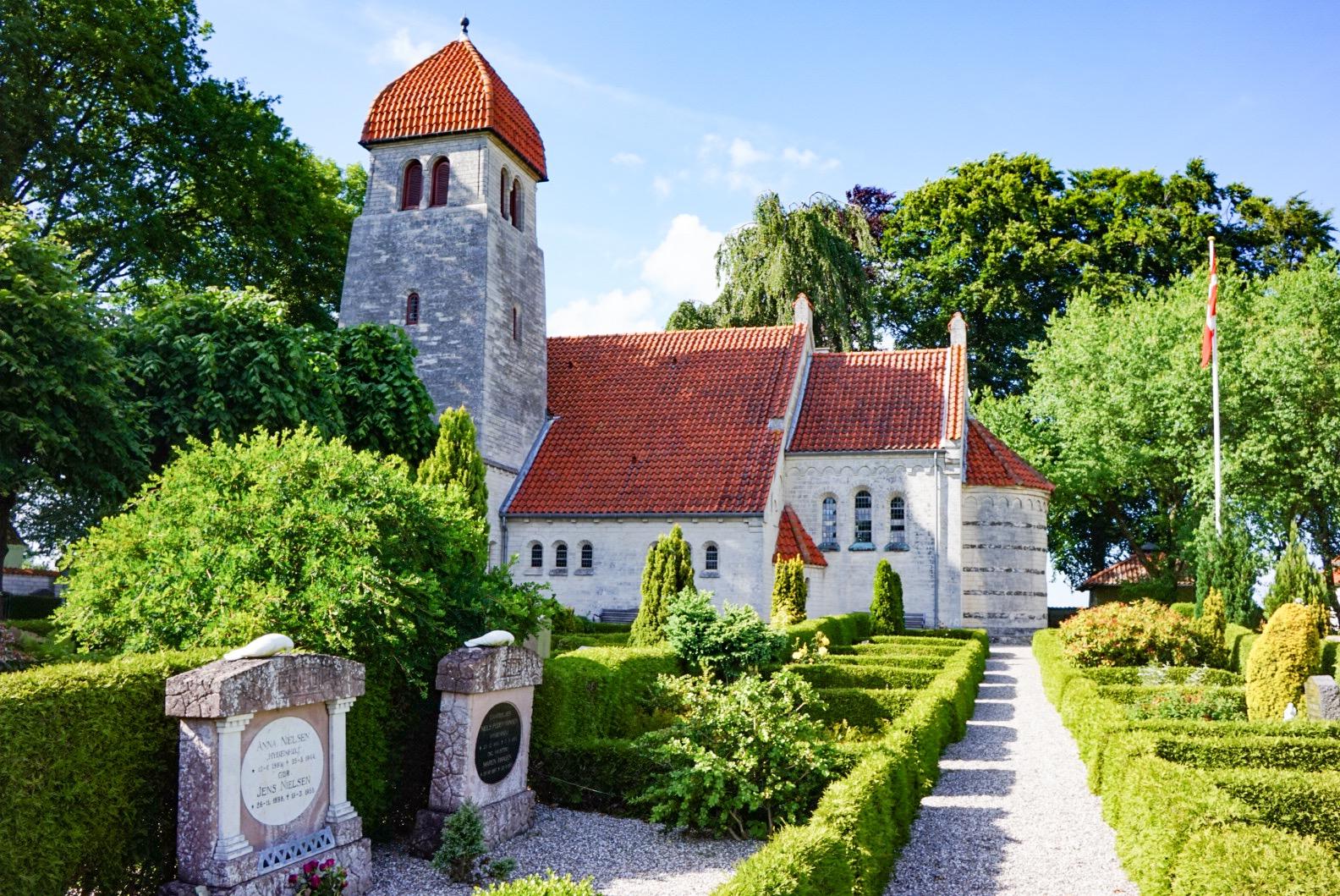 Stevns Klint, Tanska