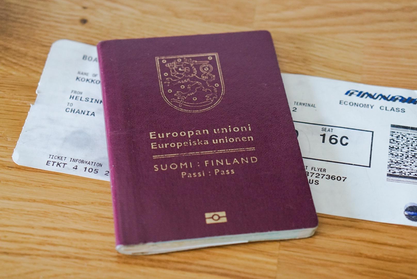 matkustaminen ruotsiin ilman passia