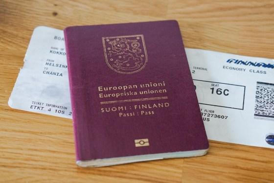 Passi meni vanhaksi ulkomailla