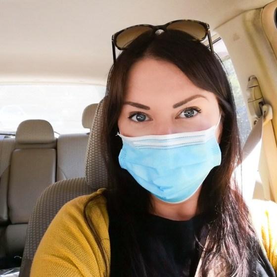 Turisti, käytä maskia!