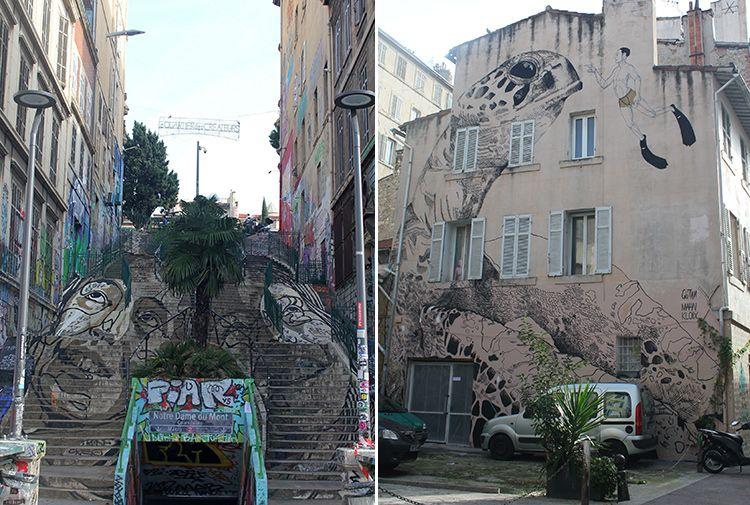 street-art Cours Julien
