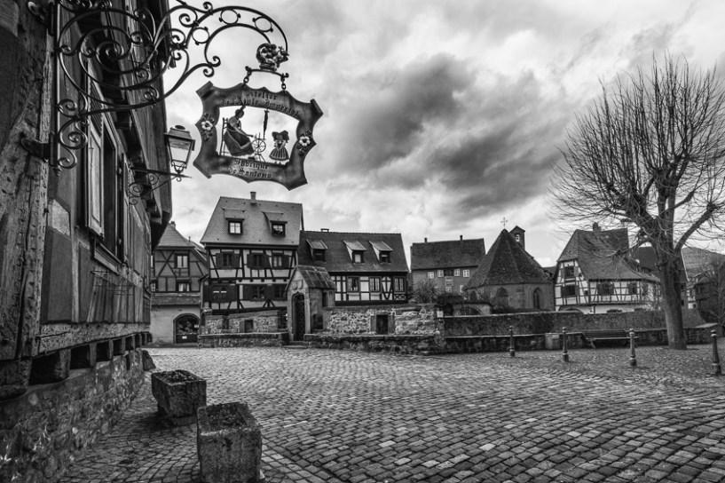 Ein sympathisches und pitoreskes Dorf.