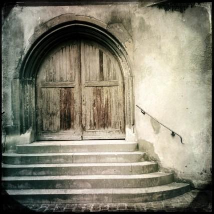 Ein Tor in Colmar.