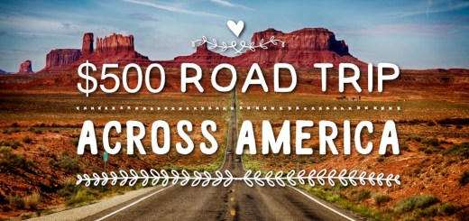 $500 road trip across America