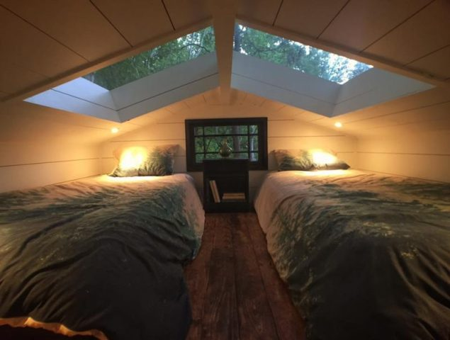 The Loft at the Dove Men+Care Treehouse