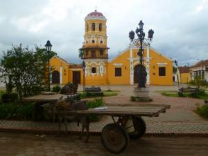 Santa Barbara church, Mompos, Colombia