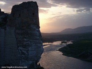 Sunset over the Tigris River