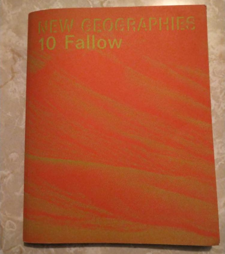 New Geographies journal