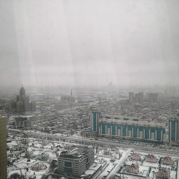 Astana buildings