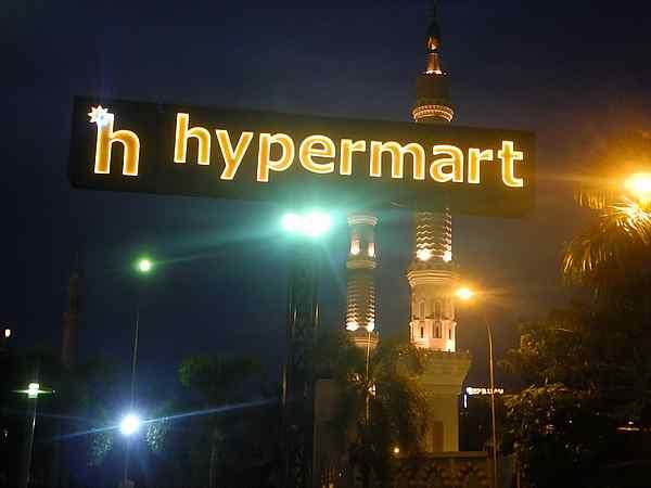 Batam Indonesia Hypermart