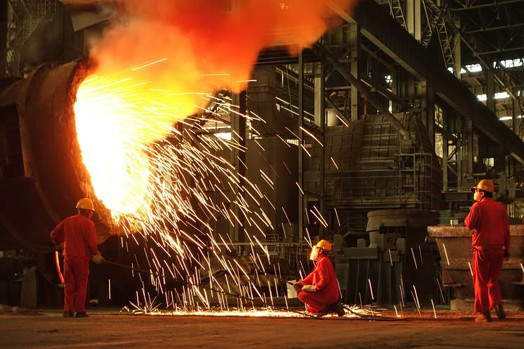 chinese-steel-plant