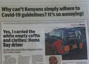 Kenya Covid-19 Guidelines