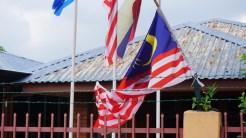 Malaysian flags in Malaysia Raya