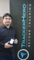 The guy behind TrackerHero (more on him later)
