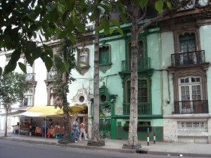 Old houses in la Ciudadela neighborhood