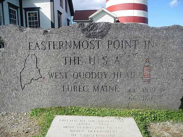 Easternmost point in the USA