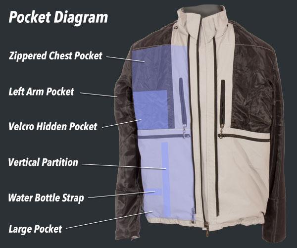 Globa travel clothing jacket 3