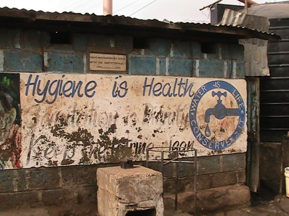 Hygiene is health sign in Kenya