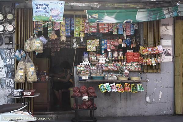 Sari-sari store in Manila