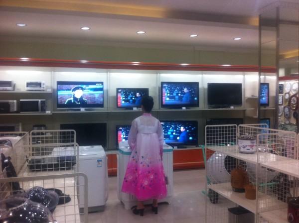 Shopping North Korea