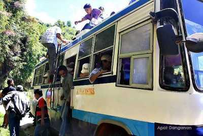 bus to Tinglayan