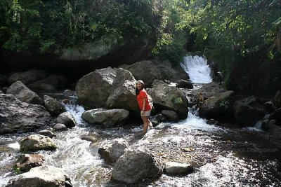 waterfall in Buscalan