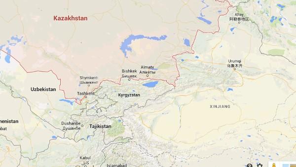 Kazakhstan   Google Maps