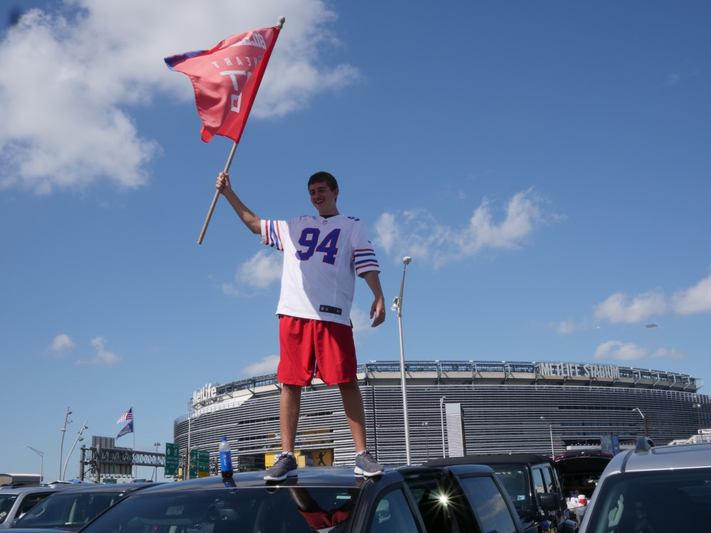 Bills fan at Metlife Stadium