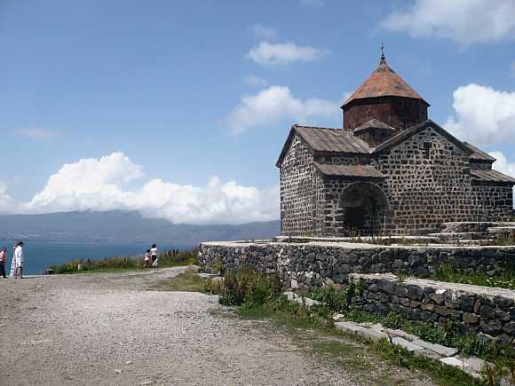 Lake Sevan monastery