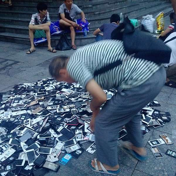 Shenzhen broken cellphones