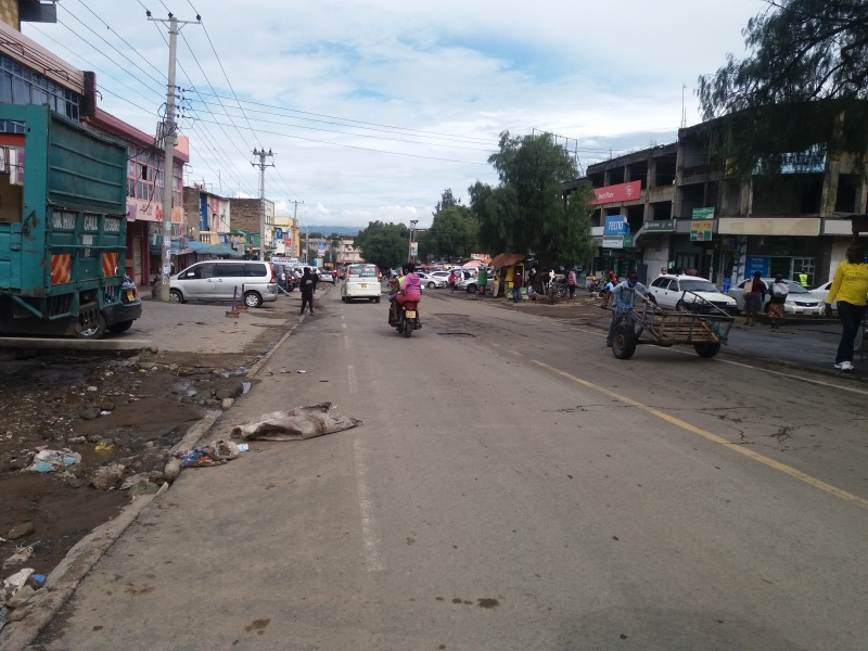 Kenya streets coronavirus