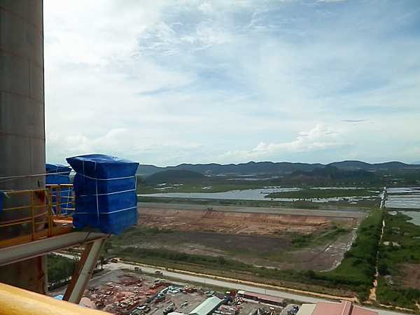 View from a Vietnamese Cement Plant Stack