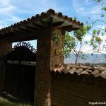 Colombian Adobe Fence