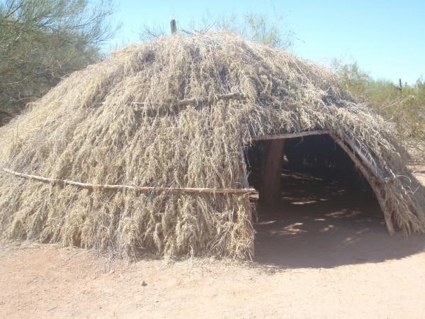 Prehistoric structure recreation
