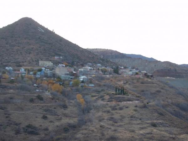 Mining town Jerome Arizona