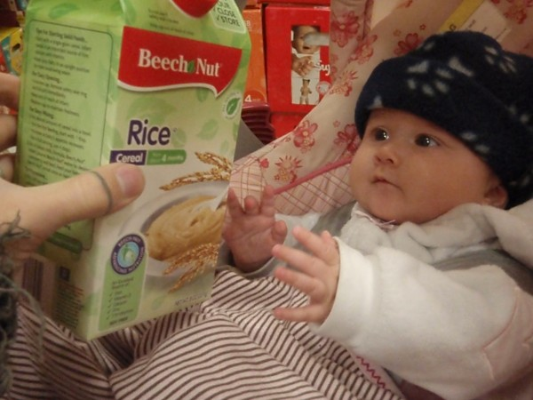 First food for babies