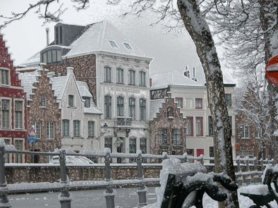 Bruge In The Snow