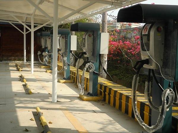 electric car charging station China