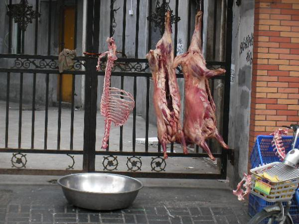 fresh meat in China