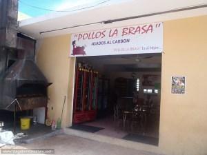 Grilled chicken restaurant in Mexico