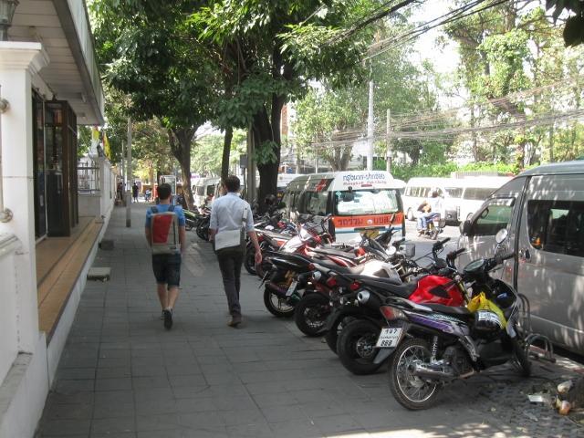 Walking in Thailand