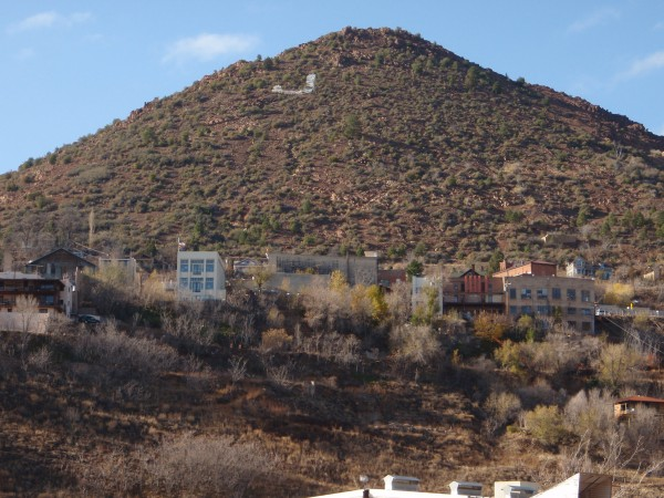 86 miles of tunnels were dug under Jerome, Arizona