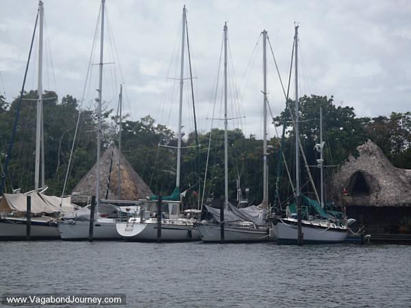 marina in rio dulce guatemala