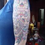 Mexican sugar skull tattoo