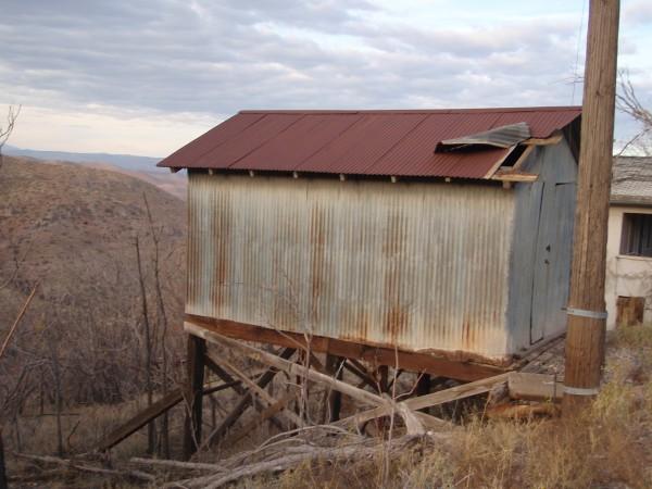 Miners shack in Jerome, Arizona